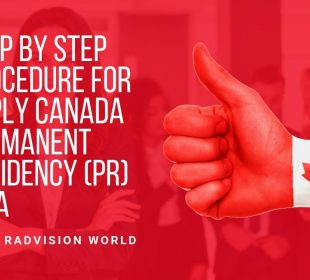 Steps to be taken for applying Canada visa