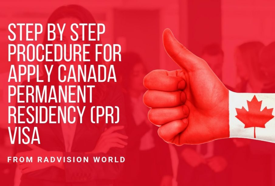 Steps to be taken for applying Canada visa