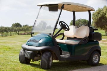 One of the fastest golf carts money can buy
