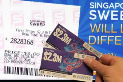 Singapore Sweep Today: